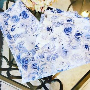 Denim 24/7 Exclusive  Blue Rose Jean's Petite